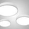 recessed ceiling light fixture / LED / round / aluminum