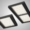 Recessed light fixture / hanging / LED / rectangular ERGO  Esse-ci