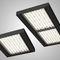 recessed light fixture / hanging / LED / rectangular