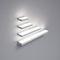 surface-mounted light fixture / LED / rectangular / aluminum