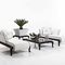 Traditional daybed / resin wicker / garden CANOPO Samuele Mazza by DFN srl