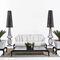 Traditional sofa / garden / resin wicker / 2-seater CANOPO Samuele Mazza by DFN srl