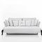 Traditional sofa / garden / resin wicker / 2-seater CANOPO Samuele Mazza by DFN srl