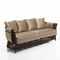 Traditional sofa / garden / rattan / 4-seater RIGEL Samuele Mazza by DFN srl