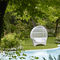 original design sofa / garden / rattan / 2-seater