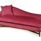 traditional daybed / fabric / leather / wooden