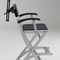 adjustable makeup chair / with headrest / folding