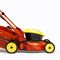 walk-behind lawn mower / electric / collecting