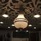 ceiling acoustic panel / for false ceilings / MDF / decorative