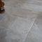 indoor tile / floor / limestone / aged