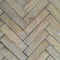 solid parquet floor / glued / oak / antique oak
