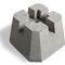 solid concrete block / for pillars / high-resistance