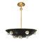 pendant lamp / traditional / steel / brass