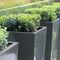 fiberglass planter / high / contemporary / for public spaces