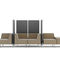 Modular upholstered bench / contemporary / fabric / commercial WALL IN by Tomek Rygalik  Profim