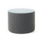 Contemporary side table / glass / fabric / round VANCOUVER OTO Profim