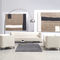 Modular sofa / corner / contemporary / wood SOFTBOX by Paul Brooks Profim