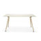 contemporary boardroom table / wooden / glass / HPL