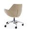 contemporary office armchair / fabric / aluminium / adjustable-height