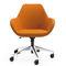 Contemporary office armchair / fabric / aluminium / adjustable-height FAN by Piotr Kuchciński Profim