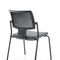 Contemporary visitor chair / stackable / upholstered / with armrests XENON, XENON NET by Ito Design Profim