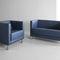 Contemporary sofa / metal / fabric / commercial VANCOUVER LITE Profim