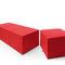 Contemporary pouf / fabric / square / round VANCOUVER OTO Profim