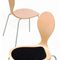 contemporary visitor chair / upholstered / stackable / with removable cover