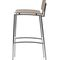 Contemporary bar chair / wenge / oak / molded plywood PRESS by Circus Design Plycollection