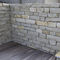 limestone wall cladding / for facades / decorative