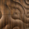 wood decorative panel / wall-mounted / satin / matte