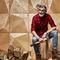 wood decorative panel / wall-mounted / satin / matte