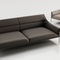 contemporary sofa / fabric / leather / by Christophe Pillet