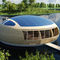Floating house / prefab / contemporary / wooden WATERNEST 100 EcoFloLife Ltd.