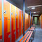 HPL locker / for sports facilities / commercial / for schools