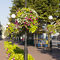 Galvanized steel planter / contemporary / for public spaces HANGING FLOWER TOWER W 600/3 Terra Group
