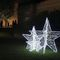 Public space Christmas lights Openwork Decorations Terra Group