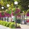 galvanized steel planter / contemporary / for public spaces