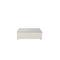 contemporary coffee table / aluminum / Batyline® / square