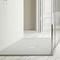 rectangular shower base / Solid Surface / resin / custom