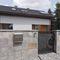 concrete wall cladding panel / interior / exterior / textured