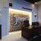 plaster decorative panel / wall-mounted / 3D / stone look