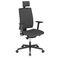 contemporary office armchair / fabric / aluminum / nylon