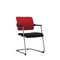 Contemporary conference chair / fabric / with armrests / upholstered 2ME by Martin Ballendat Nowy Styl Group