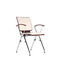 Contemporary visitor chair / tablet / stackable / with armrests AXO by Jens Korte Nowy Styl Group