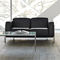 Contemporary sofa / leather / metal / commercial CLASSIC by Jerzy Langier Nowy Styl Group