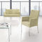 Contemporary visitor armchair / fabric / leather / with armrests TUTTI by Jerzy Langier Nowy Styl Group