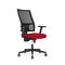contemporary office chair / on casters / high-back / swivel