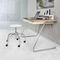 Bauhaus design stool / beech / metal / contract