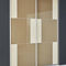 walk-in closet door / sliding / glass / melamineDOMINOED SYSTEM